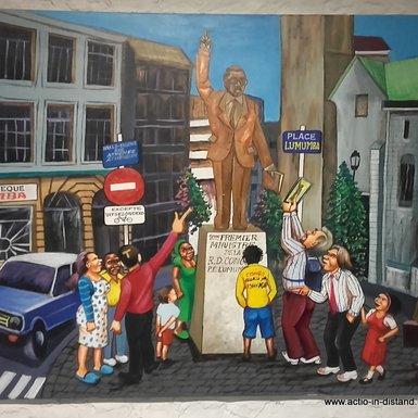 Place Lumumba, de l'art à la réalité