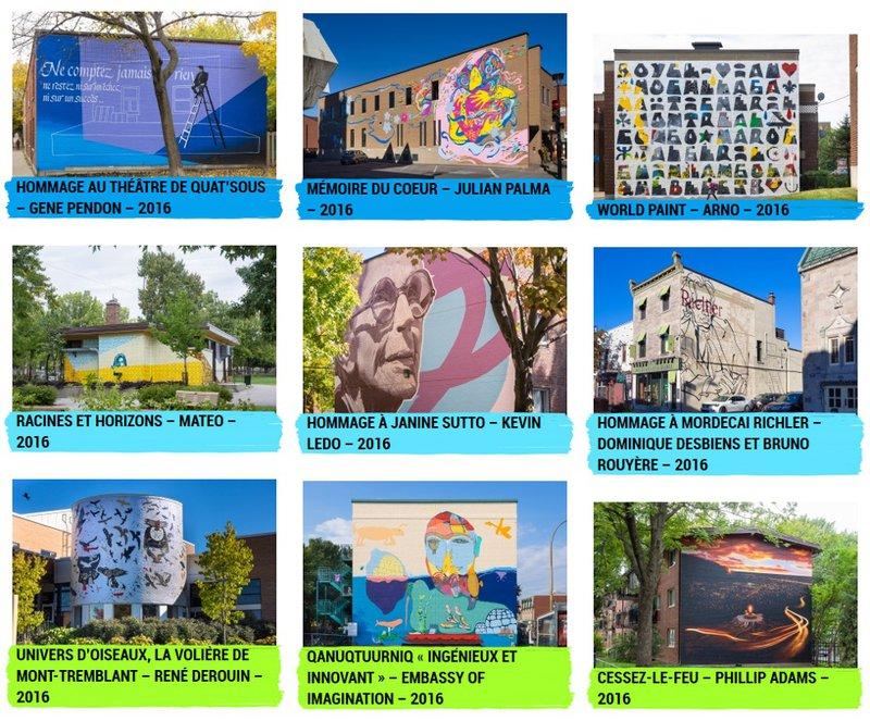 MU (Montréal) - capture d'écran du site