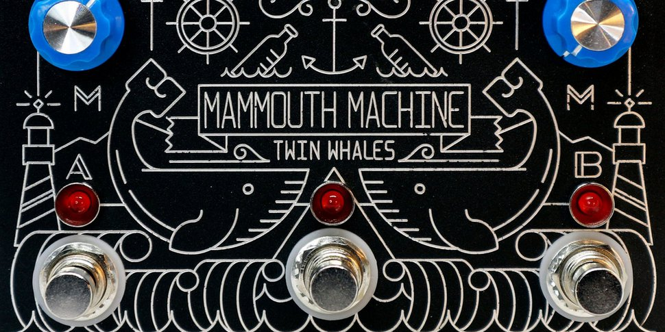 Mammouth Machine - pédale Twin Whales