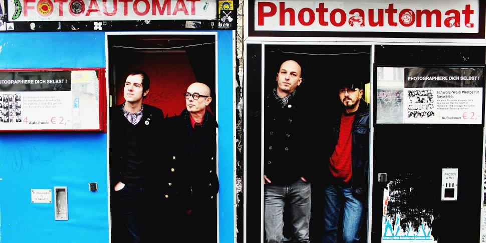 Marc Morgan et son groupe à Berlin en 2011 - photo Hannes Bieger