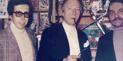 Maurice Tillieux et Daniel Depessemier
