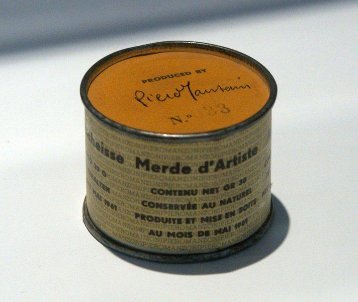 Merda d'artista - Piero Manzoni 1961