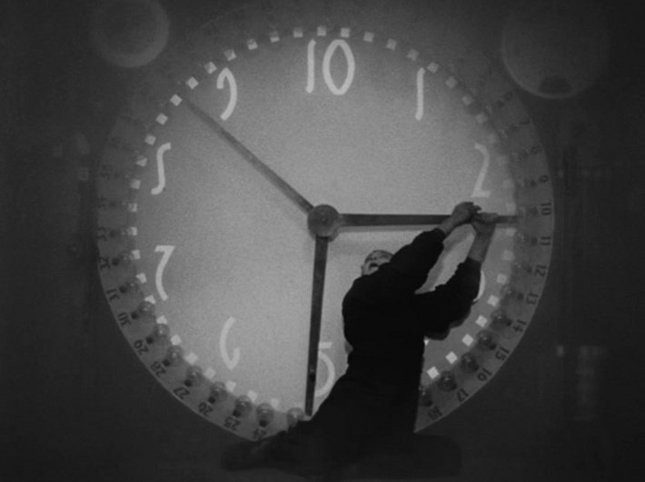 Metropolis - Fritz Lang - horloge 3