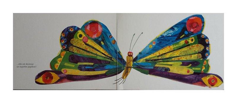 Mijade papillon Eric Carle