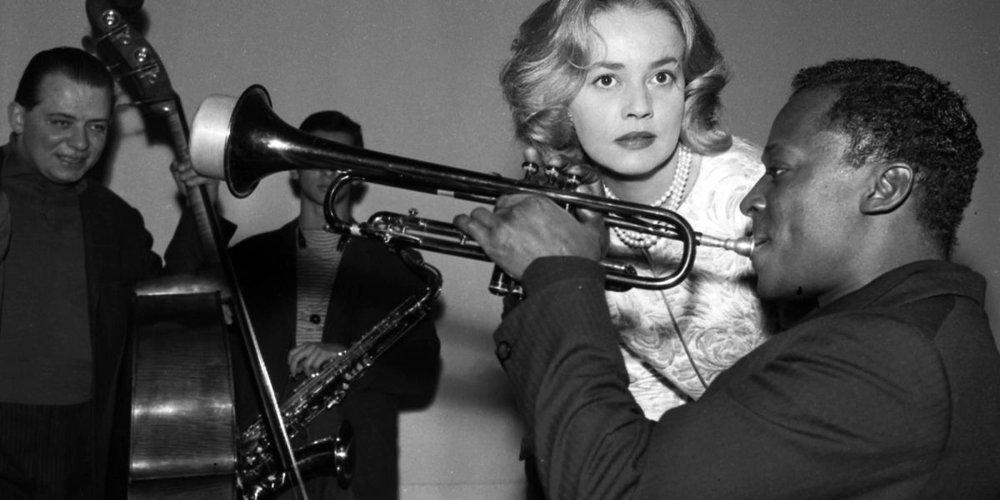 Miles Davis et Jeanne Moreau (Ascenseur pour l'échafaud) 2