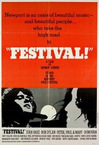 Murray Lerner, affiche du documentaire Festival!