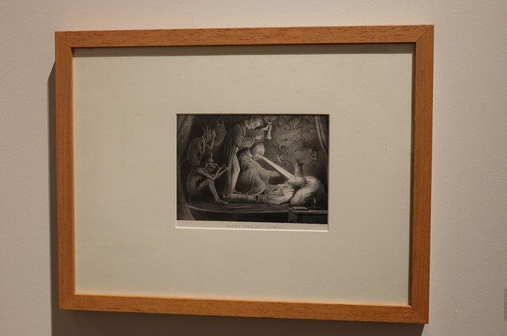 Musée Dr. Guislain - expo Angst - gravure