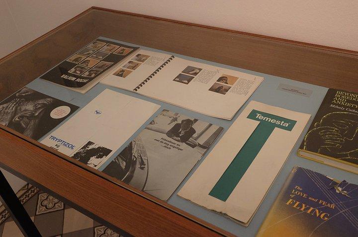 Musée Dr. Guislain - expo Angst - traitements médicamenteux des angoisses