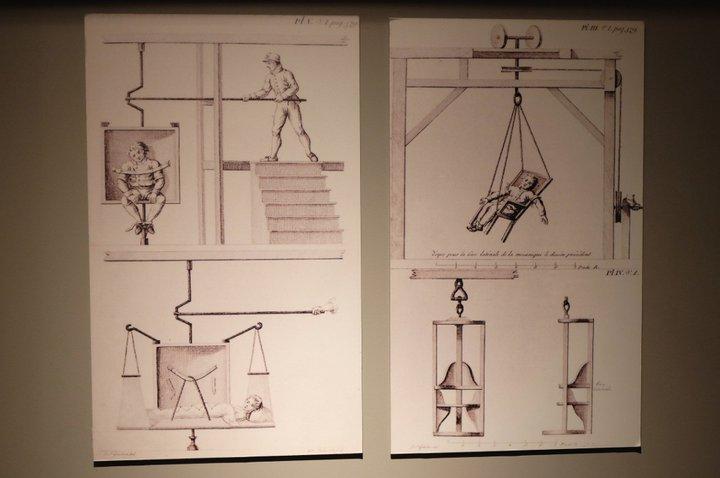 Musée Dr. Guislain - thérapie par la rotation (début du XIXe siècle)