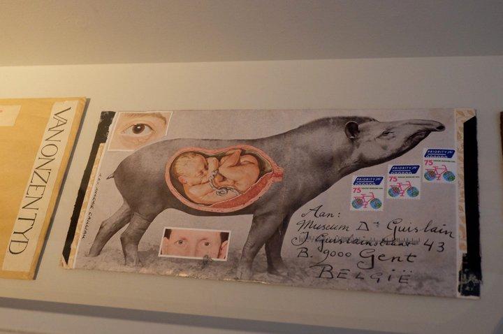 "Musée Dr. Guislain - ""kunstcollectie"" - mail art"