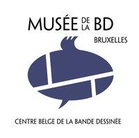 Musée de la BD Bruxelles - Centre belge de la bande dessinée - logo