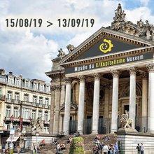 Musée du Capitalisme à La Bourse (Bruxelles) - août 2019