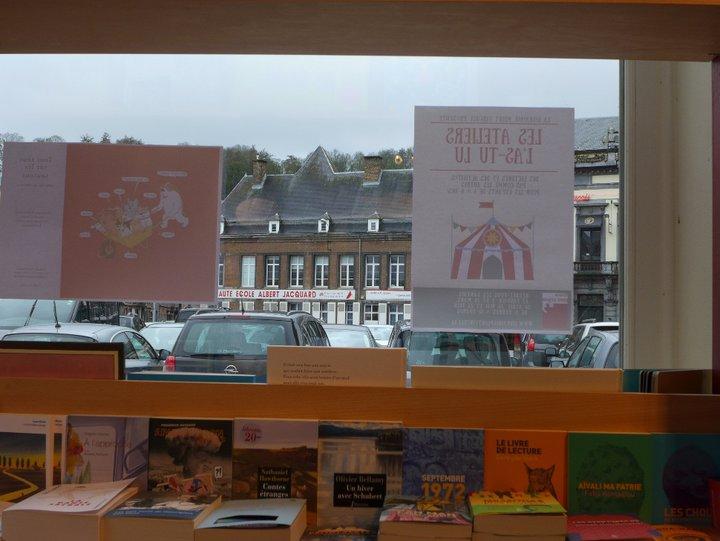 Namur - librairie Point Virgule 519