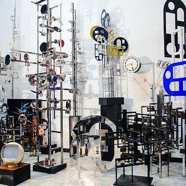 Nicolas Schöffer atelier