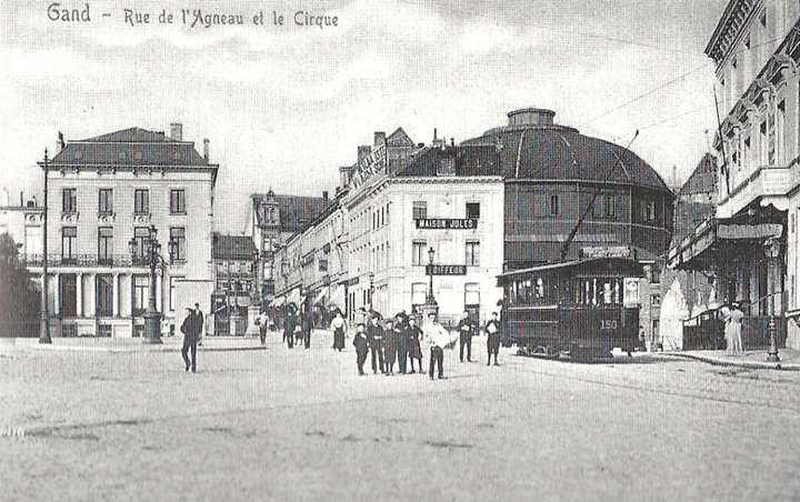 Gand - Nieuw circus avant la première guerre mondiale