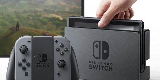 console Nintendo Switch - 2017