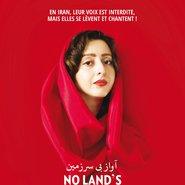 No Land's Song - affiche - (c) Ayat Najafi