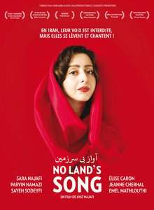 No Land's Song - affiche - (c) Ayat Najafi