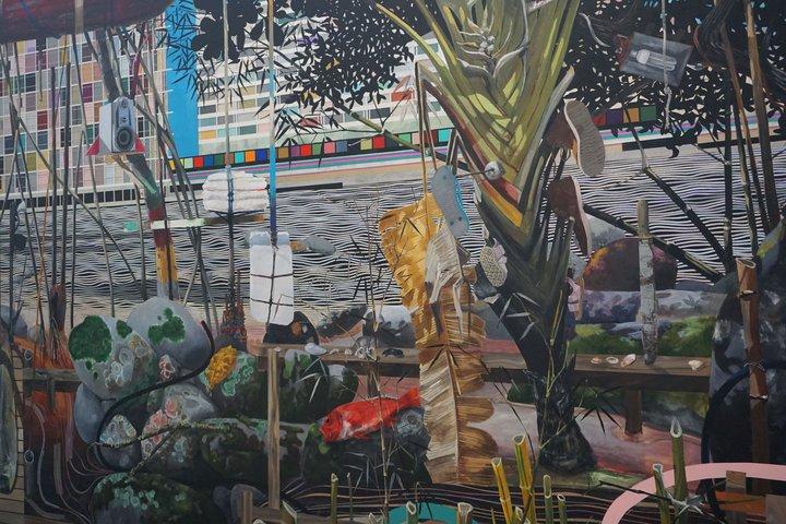 exposition Nous les arbres - oeuvre de Luiz Zerbini