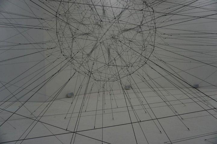 """""""On Air"""", ALGO-R(H)I(Y)THMS 3 - (c) Tomás Saraceno - Palais de Tokyo"""