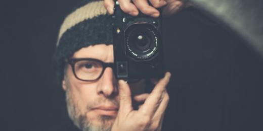Olivier Calicis, autoportrait