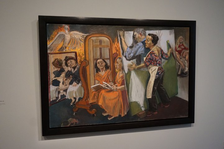 Painting Him Out - (c) Paula Rego / Musée de l'Orangerie