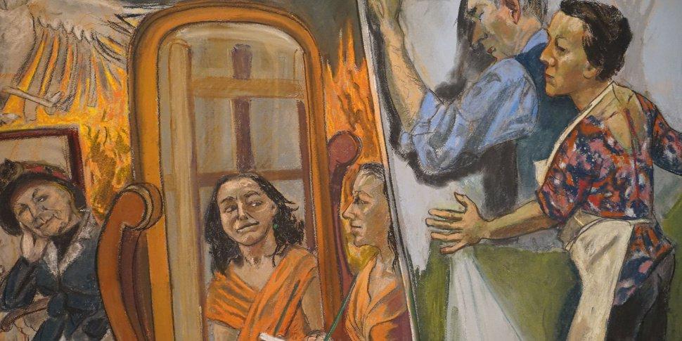 Painting Him Out (détail) - (c) Paula Rego Musée de l'Orangerie