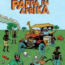 Pappa in Afrika - Anton Kannemeyer - (c) La Cinquième Couche