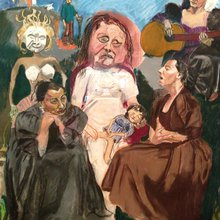 Paula Rego - The Family