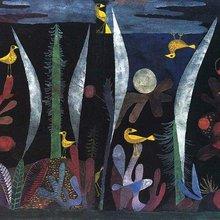 Paysage avec oiseaux jaunes de Paul Klee