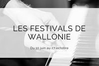 Festivals de wallonie 2017
