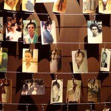 Photos des victimes du génocide du Rwanda - mémorial de Kigali - Creative Commons - WikiMedia