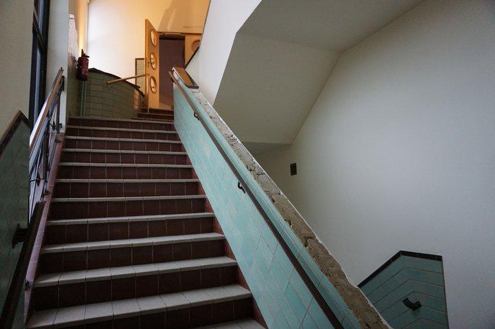 Prix du Hainaut - escalier de service Palais provincial