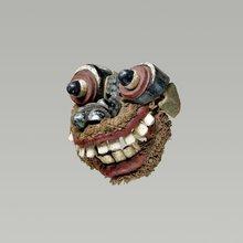 Masque d'exorcisme (Tovil), Sri-Lanka (Musée du Quai Branly)