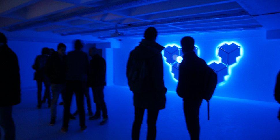 Inauguration espace gaming du Quai 10 - vue intérieure