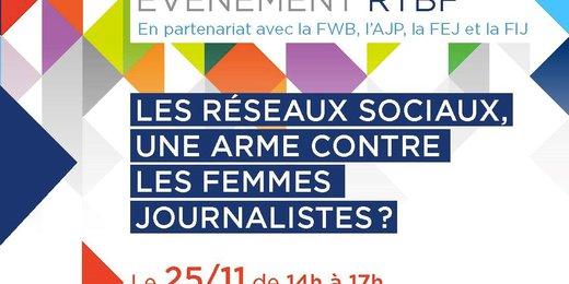 Les réseaux sociaux, une arme contre les femmes journalistes