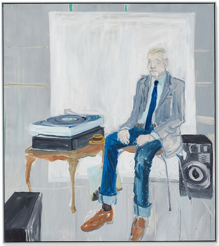 "Ragnar Kjartansson - ""Bjarni Bommer Listens to Take it Easy by The Eagles"""