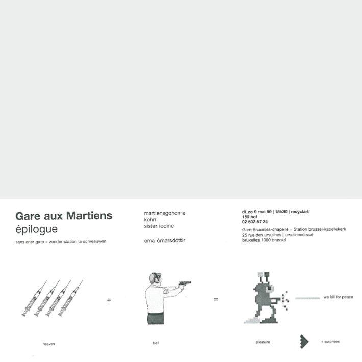 Recyclart - Gare aux Martiens - épilogue