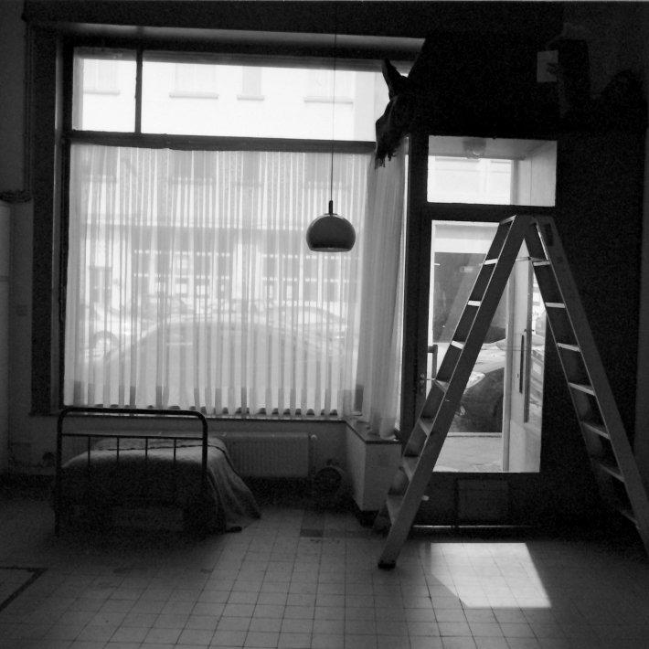 Recyclart - Zerfall - le lieu pour Trois histoires d'amour de Clément Laloy