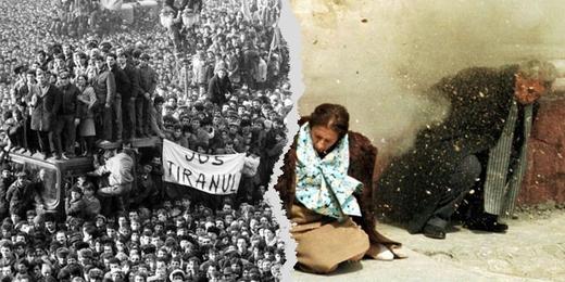 """Revolution roumaine - """"12h08 a l'Est de Bucarest"""""""