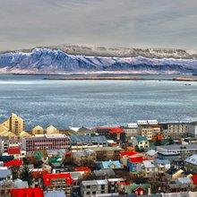 ligne d'horizon de Reykjavik - photo Wikimedia