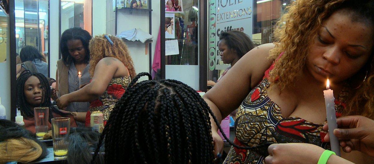 """Rosine Mbakam : """"Chez jolie coiffure"""""""
