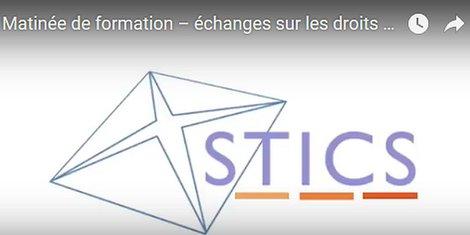 STICS formation droits d'auteur