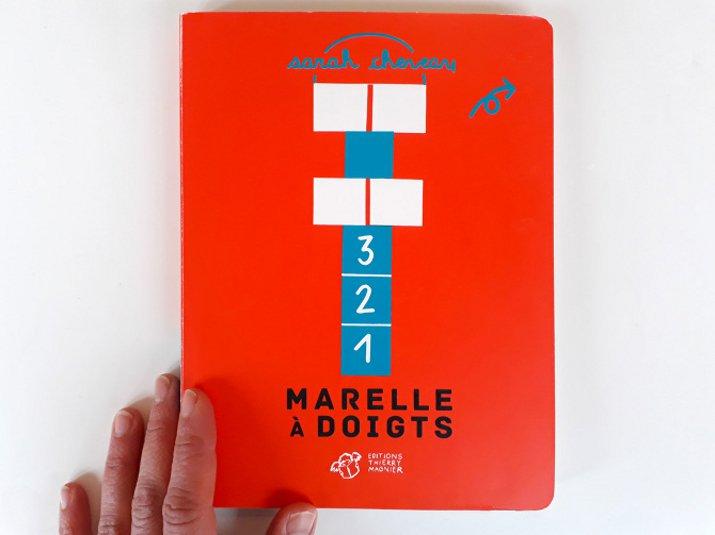 Sarah Cheveau - Marelle à doigts - éditions Thiery Magnier