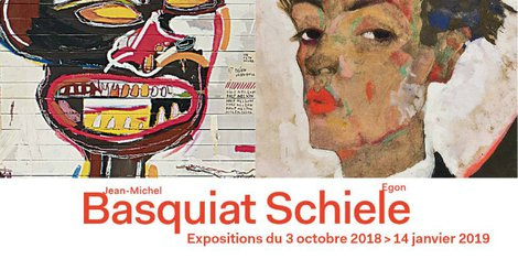Egon Schiele et Basquiat