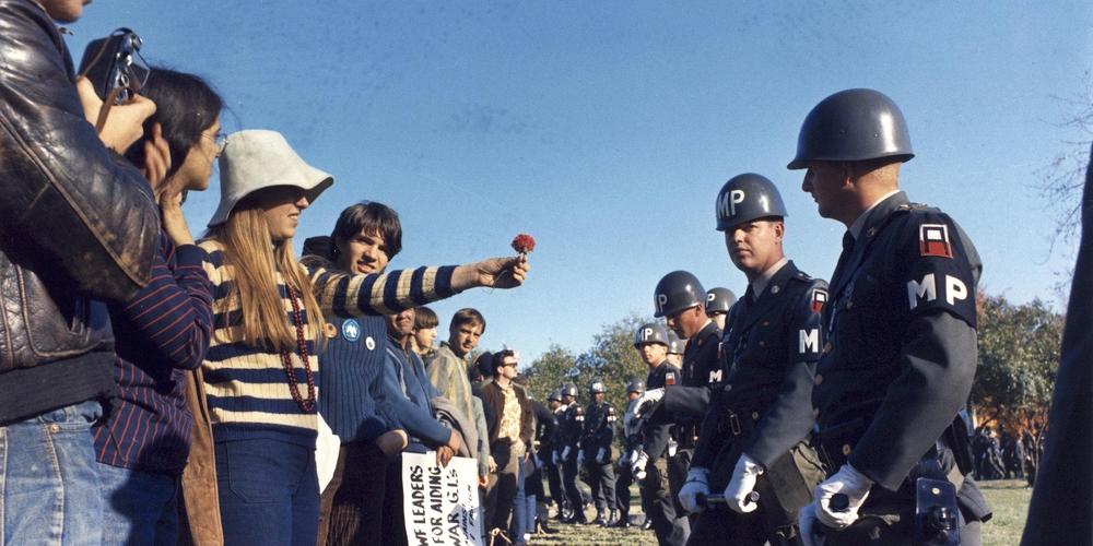Sgt. Albert R. Simpson - Manifestation du 21 octobre 1967 devant le Pentagone
