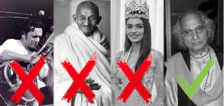 Shankar - Gandhi - Manushi Chhilar - Jasraj