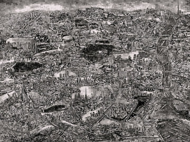 Sohei Nishino - Diorama Map Tokyo 1