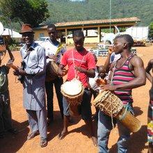 Spontaneous jamming in Kabala - Sierra Leone