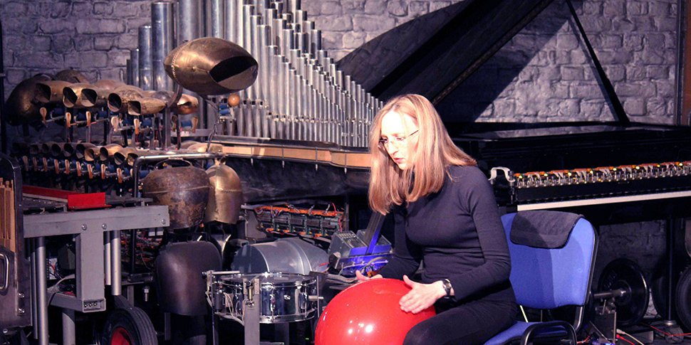 Judy Dunaway en concert à la Stichting Logos à Gand en 2014